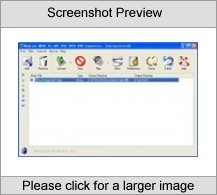 Mpeg to AVI DIVX VCD DVD Converter Screenshot